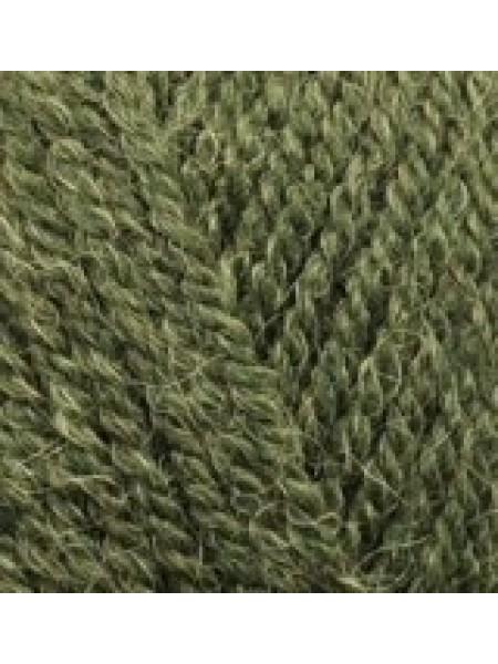 Альпака Роял зеленый меланж 567