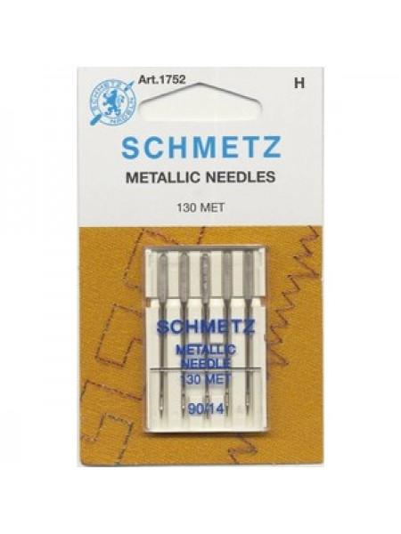 Иглы металлизированные №90, Schmetz