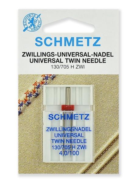 Иглы стандартные двойные № 100/4.0, Schmetz