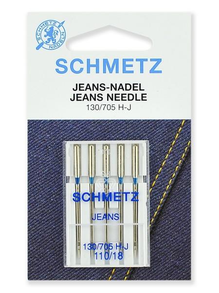 Иглы для джинсы № 110, Schmetz