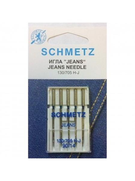 Иглы для джинсы № 90, Schmetz