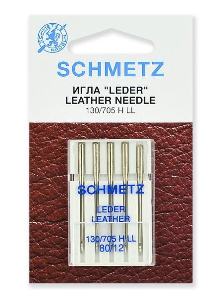 Иглы для кожи № 80, Schmetz
