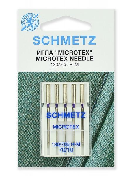 Иглы микротекс (особо острые) № 70, Schmetz
