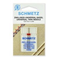 Иглы стандартные двойные № 90/3.0, Schmetz