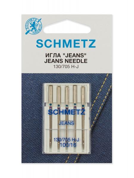 Иглы для джинсы №100, Schmetz