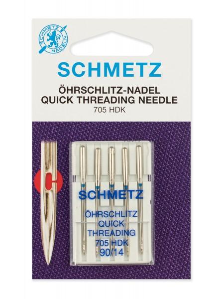 Иглы легковдеваемые №90, Schmetz