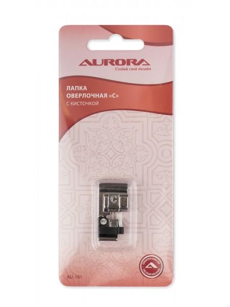 """Лапка оверлочная """"С"""" с кисточкой Aurora"""