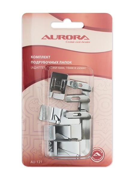 Комплект подрубочных лапок (адаптер, лапки 6, 16, 22 мм) Aurora