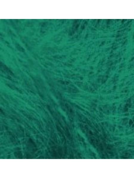 Мохер Классик зеленый яркий 20