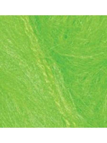 Мохер Классик зеленый неон 551