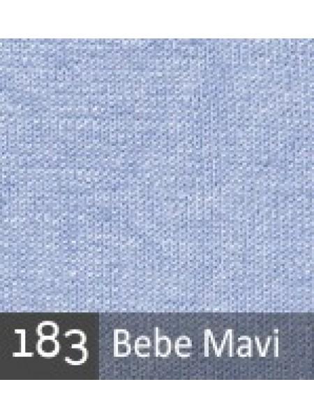 Пуффи сиссон голубой светлый