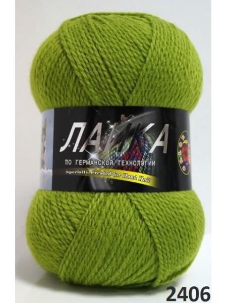 Лайка 2406 зел.яблоко