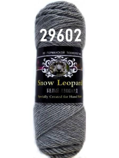 Белый леопард 29602 серый