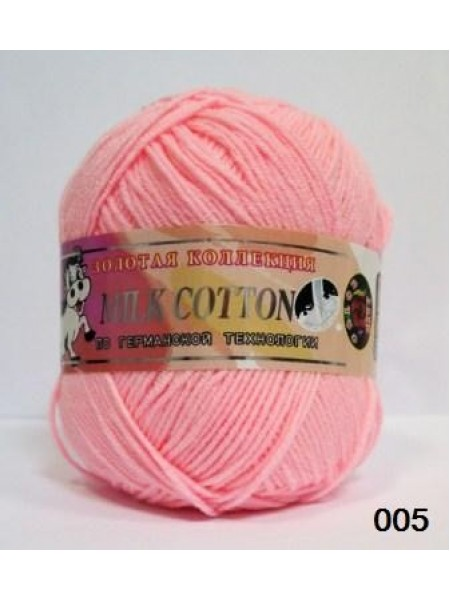 Милк коттон 005 розовый