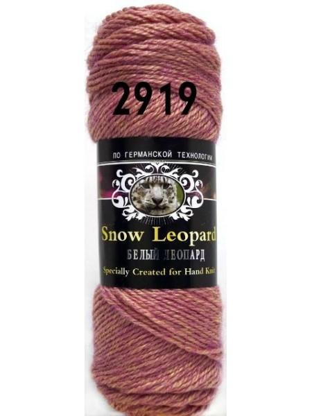 Белый леопард 2919 брусника