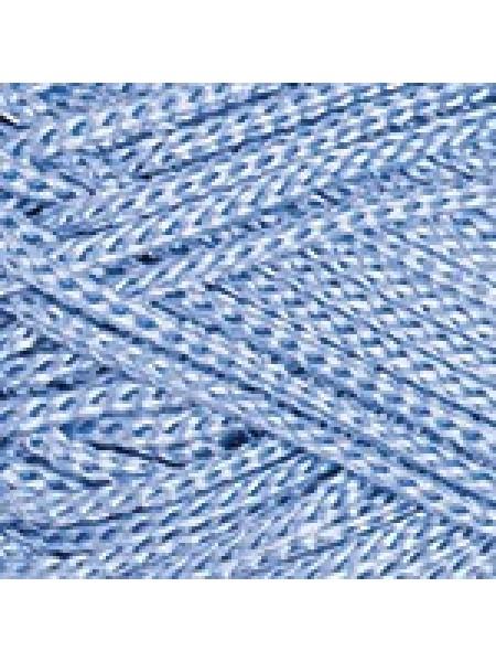 Макраме 133 голубой