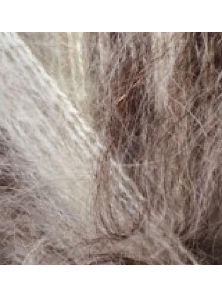 Мохер Классик Нью 01-92 кремовый-коричневый