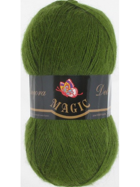 Ангора Деликат 1108 зеленый кедр