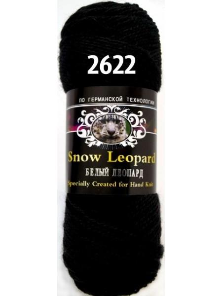 Белый леопард 2622 черный