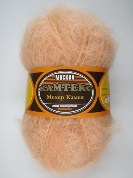 Камея мохер персик