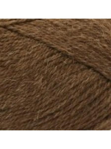 Натуральная шерсть коричневый