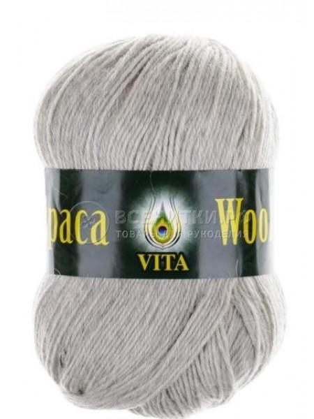 Альпака Вул 2967 светло-серый меланж