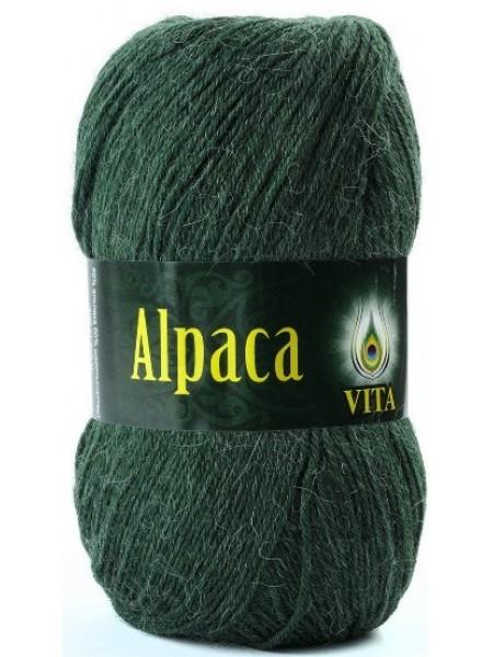 Альпака Вул 2960 темно-зеленый