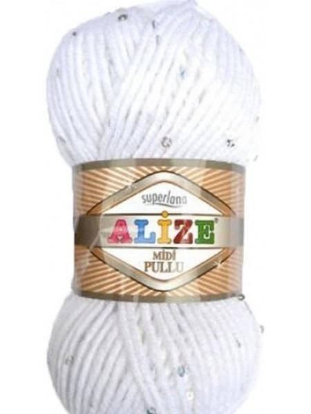 Суперлана Миди Пуллу (Superlana Midi Pullu) 55 белый