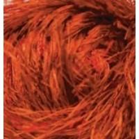 Травка Декофур оранжевый неон 654