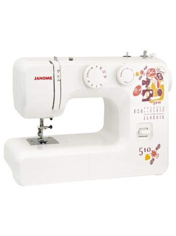 Швейная машина Janome Sew dream510