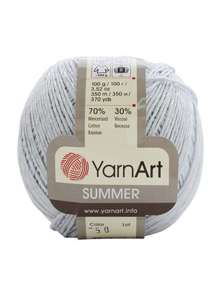 Пряжа Yarn art 'Sammer' (70%хлопок, 30%вискоза)