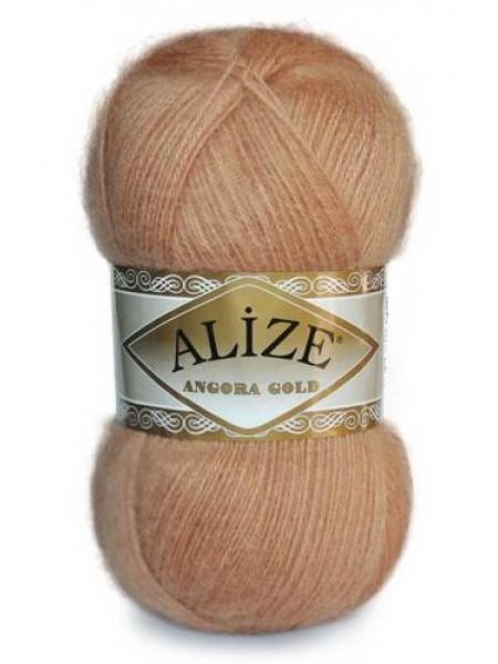 Пряжа ALIZE 'Angora Gold' 100гр. 550м (80%акр, 10%шерсть, 10%мохер) ТУ