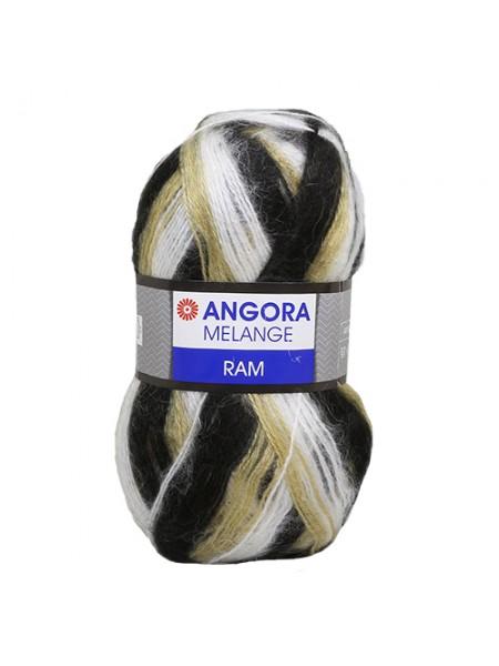 Пряжа Yarn art 'Angora Melange' 100гр., 500м (40% мохер, 60% акрил) ТУ