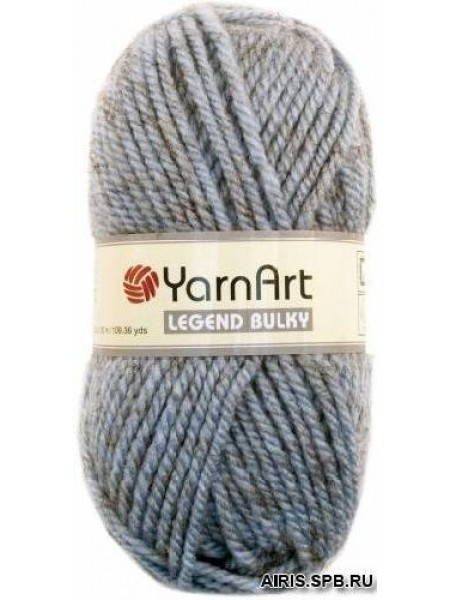 Пряжа Yarn art «Legend Bulky» (40%шерсть, 10%вискоза, 50%акрил)