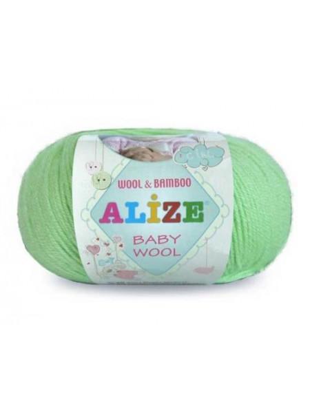 Пряжа ALIZE 'Baby wool' 50гр. 165м. (20%бамбук, 40%шерсть, 40%акрил)ТУ