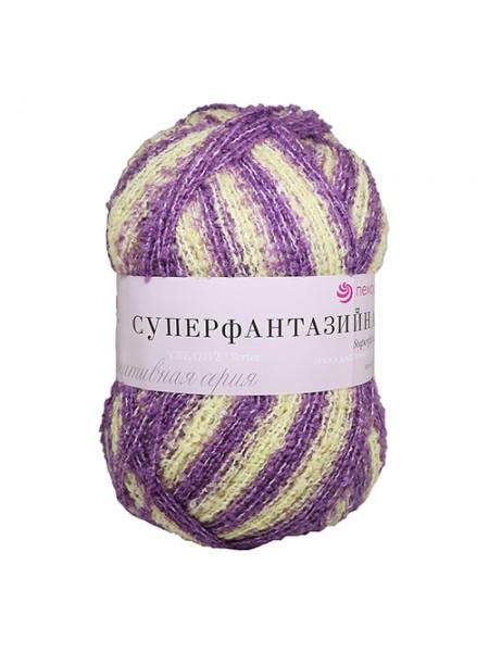 Пряжа Пехорка 'Суперфантазийная' (50%шерсть, 48%акрил, 2%полиамид)