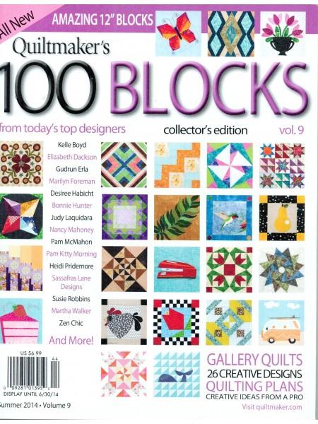 Журнал Quiltmaker`s 100 blocks Volume 9 2014