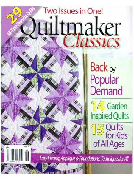 Журнал Quiltmakers Classics vol2 Summer 2014