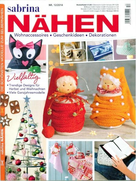 Журнал Sabrina Naden 12/2014