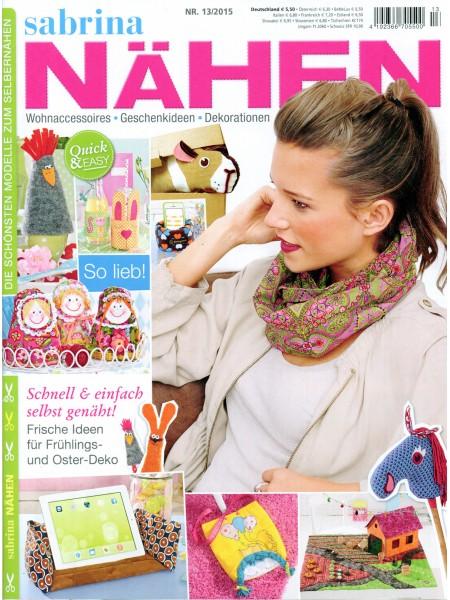 Журнал Sabrina Nahen 110096/13