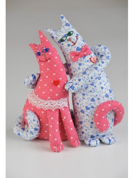 """Набор для изготовления игрушки """"Влюблённые коты"""""""